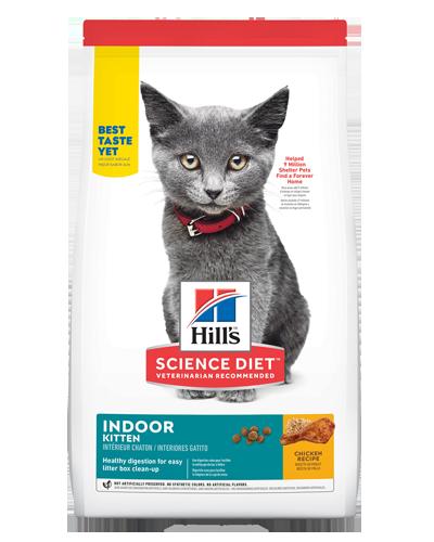 Picture of Hill's Science Diet Kitten Indoor Recipe - 7 lbs.