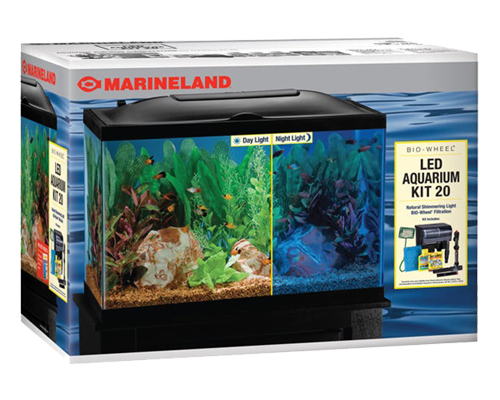 Picture of Marineland LED Freshwater BioWheel Filter Kit - 20 Gallon High