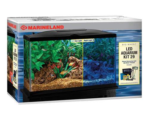 Picture of Marineland LED Freshwater BioWheel Filter Kit - 29 Gallon