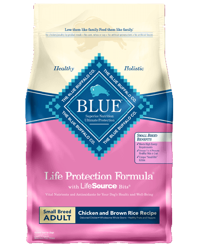 Picture of Blue Buffalo Life Protection Formula Chicken and Brown Rice Recipe for Small Breeds - 15 lb.