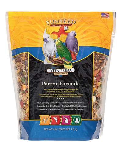 Picture of Sunseed Vita Prima Sunscription for Parrots - 4 lb.