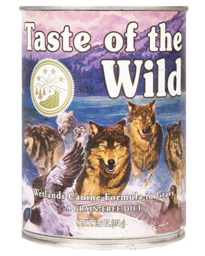 Picture of Taste Of The Wild Grain Free Wetlands Recipe with Fowl in Gravy - 13.2 oz.