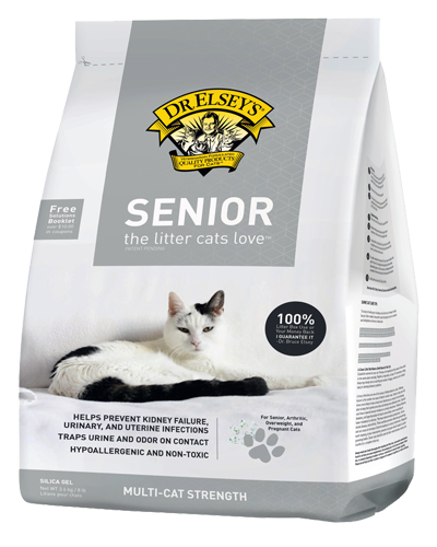 Picture of Dr. Elsey's Senior Cats Litter - 8 lb.