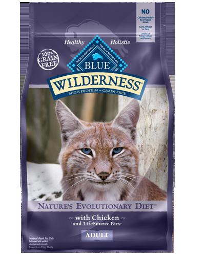 Picture of Blue Buffalo Wilderness Grain Free Chicken - 6 lb.
