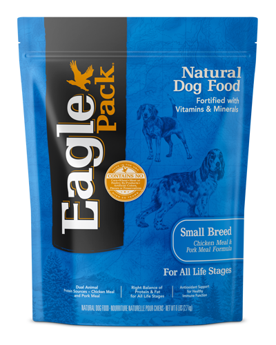 Picture of Eagle Pack Chicken Meal & Pork Meal Small Breed - 6 lbs.