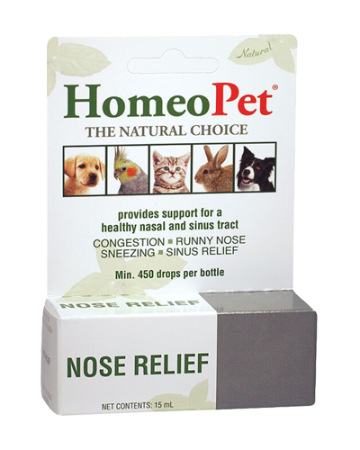 Picture of HomeoPet Nose Relief - 15 mL