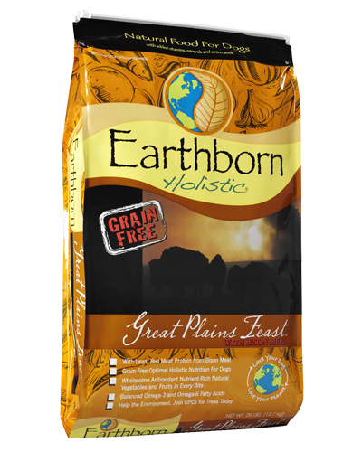 Picture of Earthborn Holistic Grain Free Great Plains Feast Formula with Bison Meal - 28 lb.