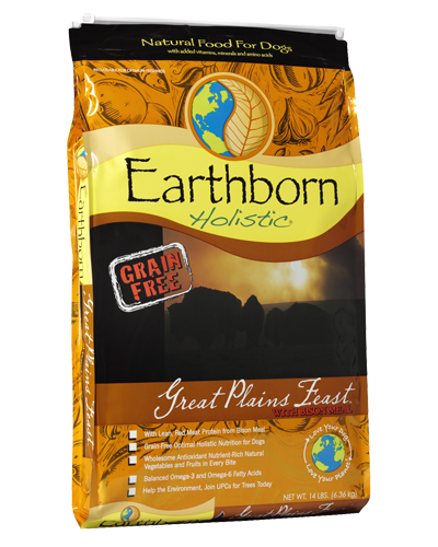 Picture of Earthborn Holistic Grain Free Great Plains Feast Formula with Bison Meal - 14 lb.