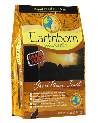 Picture of Earthborn Holistic Grain Free Great Plains Feast Formula with Bison Meal - 5 lb.