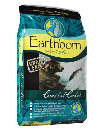 Picture of Earthborn Holistic Grain Free Coastal Catch Formula with Herring Meal - 28 lb.