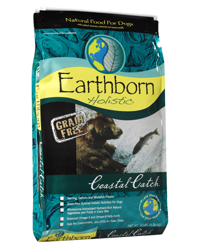 Picture of Earthborn Holistic Grain Free Coastal Catch Formula with Herring Meal - 14 lb.