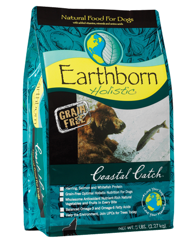 Picture of Earthborn Holistic Grain Free Coastal Catch Formula with Herring Meal - 5 lb.