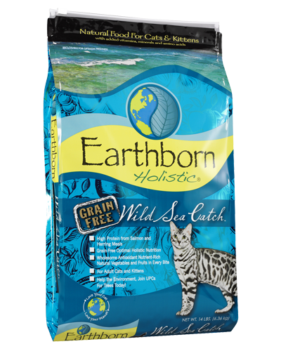 Picture of Earthborn Holistic Grain Free Wild Sea Catch Formula with Salmon Meal - 14 lb.