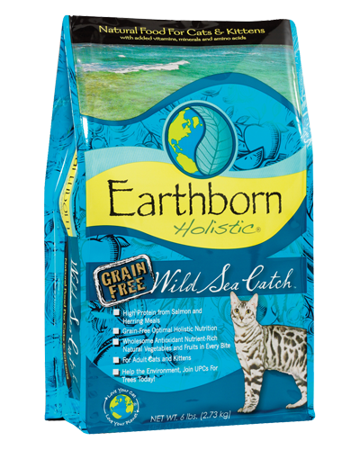 Picture of Earthborn Holistic Grain Free Wild Sea Catch Formula with Salmon Meal - 6 lb.