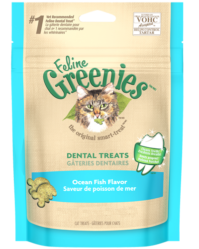 Picture of Feline Greenies Oceanfish Flavor Dental Treats - 5.5 oz.