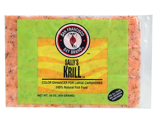 Picture of San Francisco Bay Brand Frozen Krill Flat Pack - 16 oz.