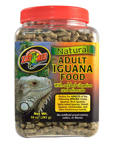 Picture of ZooMed Labs Natural Adult Iguana Food - 10 oz.