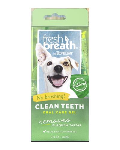 Picture of Tropiclean Fresh Breath Clean Teeth Gel - 4 oz