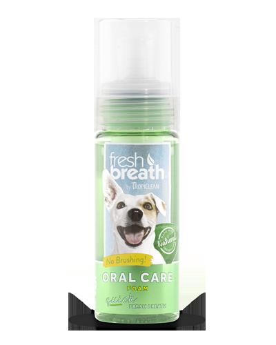 Picture of Tropiclean Fresh Breath Mint Oral Care Foam - 4.5 oz