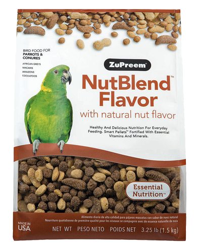 Picture of Zupreem Nutblend Flavor for Parrots and Conures - 3.25 lb.