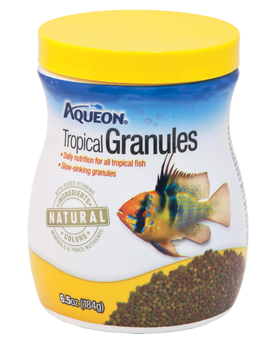Picture of Aqueon Tropical Granules - 6.5 oz.