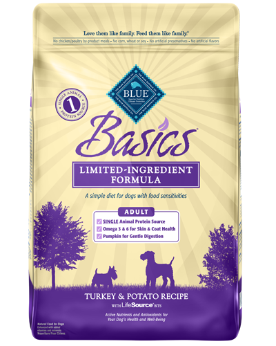 Picture of Blue Buffalo Basics Turkey and Potato Recipe - 24 lb.