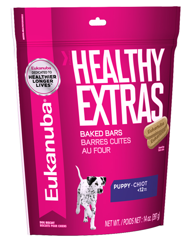 Picture of Eukanuba Healthy Extras Puppy Growth Baked Biscuits - 14 oz.