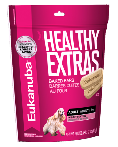 Picture of Eukanuba Healthy Extras Adult Weight Control Baked Biscuits - 14 oz.