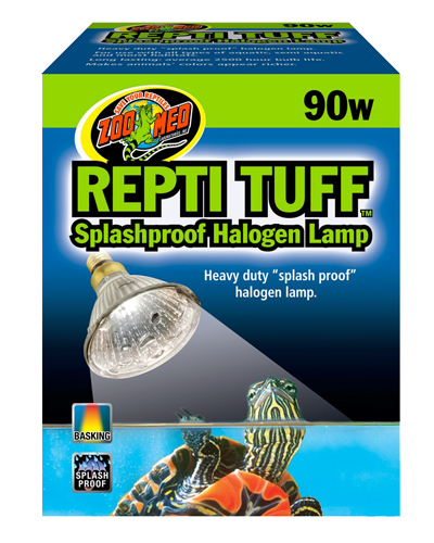 Picture of ZooMed Labs Repti Tuff Splashproof Halogen Lamp - 90 Watt