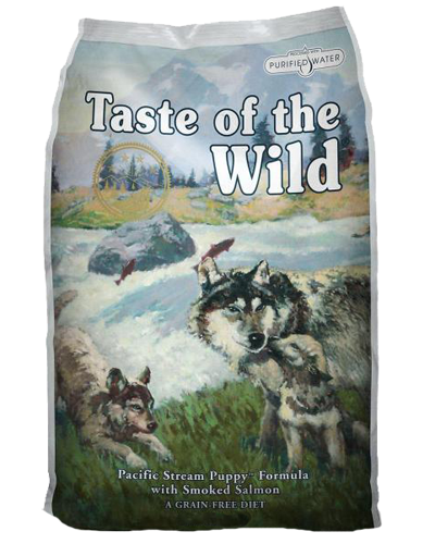 Picture of Taste Of The Wild Grain Free Puppy Pacific Stream Recipe with Smoked Salmon - 5 lbs.