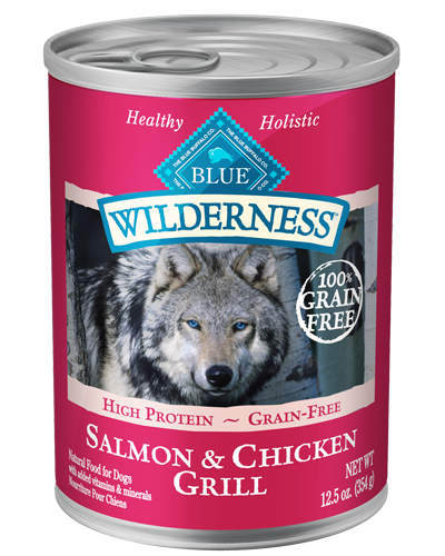 Picture of Blue Buffalo Wilderness Grain Free Salmon and Chicken Grill - 12.5 oz.