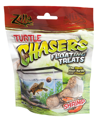 Picture of Zilla Turtle Chasers Floating Shrimp Treats - 2 oz.