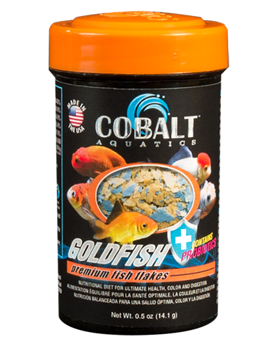 Picture of Cobalt Goldfish Flakes - .5 oz.