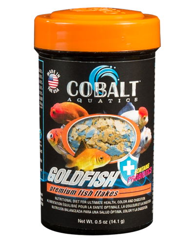 Picture of Cobalt Goldfish Flakes - 1.2 oz.