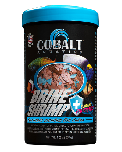 Picture of Cobalt Brine Shrimp Flakes - 1.2 oz
