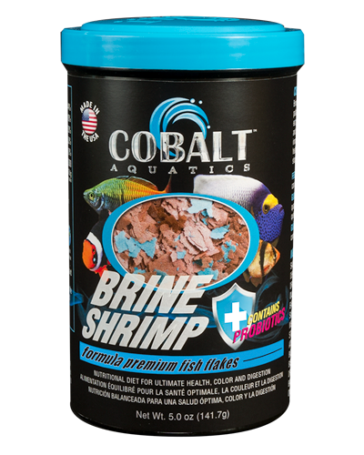 Picture of Cobalt Brine Shrimp Flakes - 5 oz