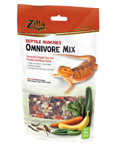 Picture of Zilla Reptile Munchies Omnivore - 4 oz.