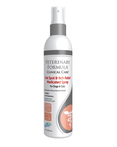 Picture of Synergy Labs Clinical Care Hot Spot and Anti-Itch Veterinary Formula Medicated Spray - 8 oz
