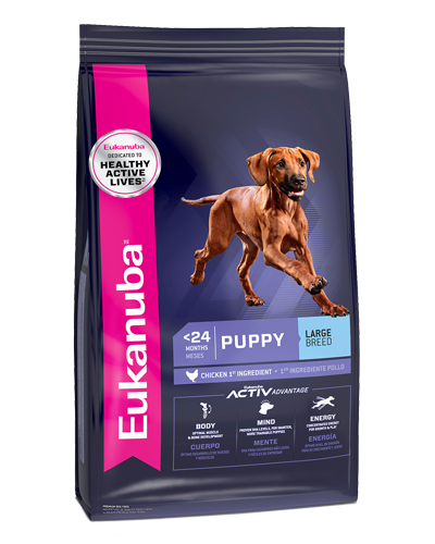 Picture of Eukanuba Lifestage Early Advantage Large Breed Puppy Growth Formula - 33 lb.