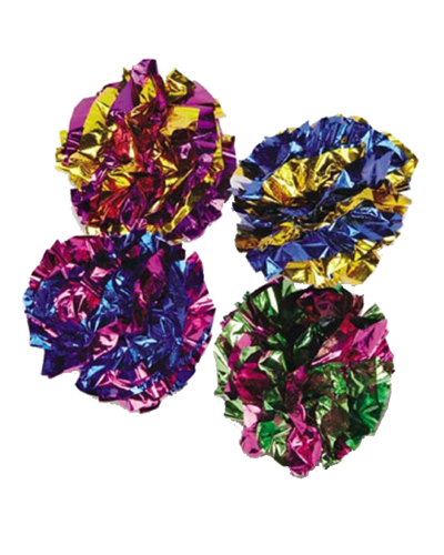Picture of Savvy Tabby Mylar Ball - Assorted Colors