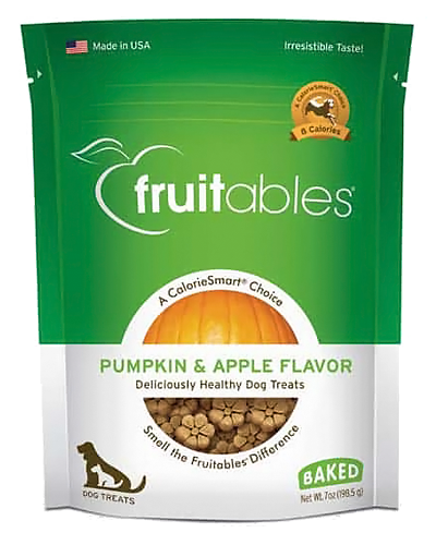 Picture of Fruitables Crunchy Pumpkin and Apple Flavor Treats - 7 oz.