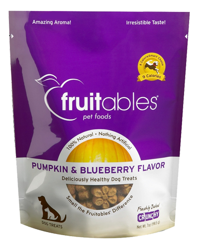 Picture of Fruitables Crunchy Pumpkin and Blueberry Flavor Treats - 7 oz.