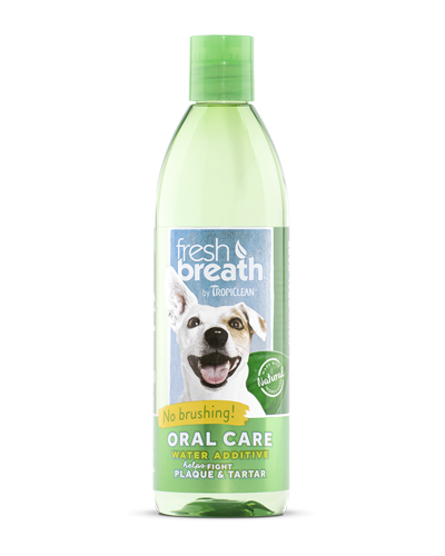 Picture of Tropiclean Fresh Breath Water Additive - 16 oz