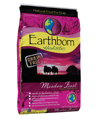 Picture of Earthborn Holistic Grain Free Meadow Feast Formula with Lamb Meal - 14 lb.