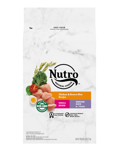 Picture of Nutro Natural Choice Senior Chicken & Brown Rice - 5 lbs.