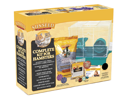 Picture of SunSeed Home Sweet Home Starter Kit for Hamsters