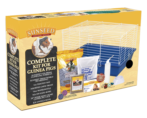 Picture of SunSeed Home Sweet Home Starter Kit for Guinea Pigs