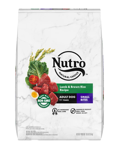 Picture of Nutro Wholesome Essentials Small Bites Pasture-Fed Lamb & Rice - 30 lbs.