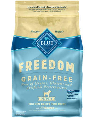 Picture of Blue Buffalo Freedom Grain Free Chicken Recipe for Puppies - 11 lb.