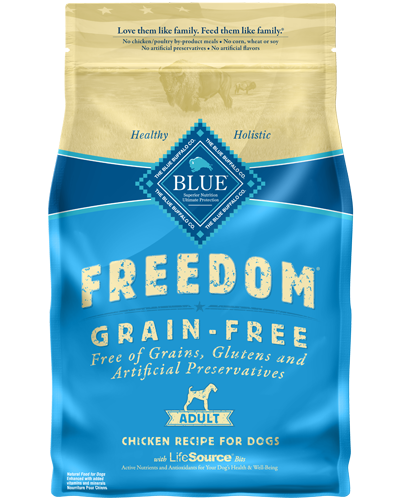 Picture of Blue Buffalo Freedom Grain Free Chicken Recipe - 4 lb.